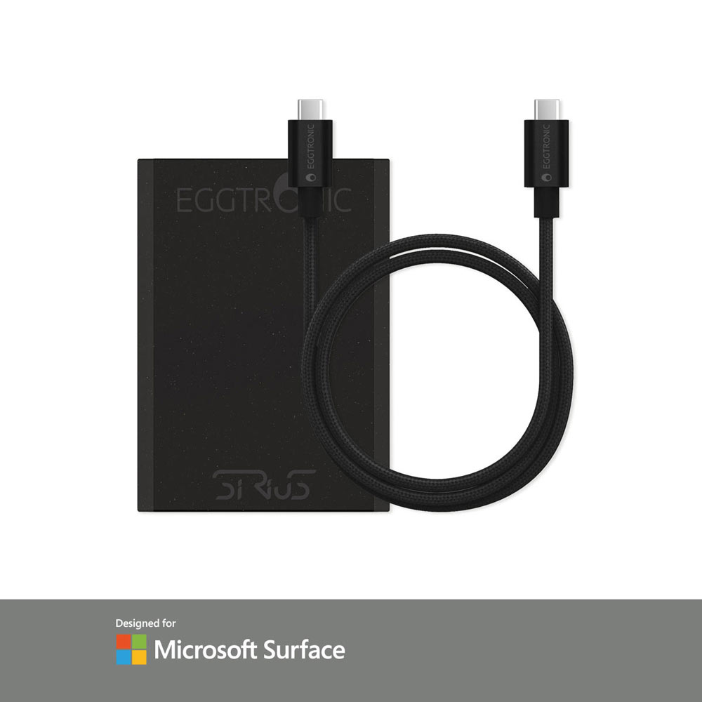 Sirius 65W Laptop Charger - Microsoft Bundle